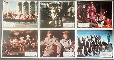 LOT OF 6 ORIGINAL LOBBY CARDS SWEET CHARITY Shirley MacLaine
