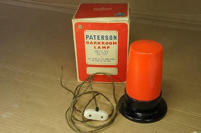 Paterson boxed darkroom lamp