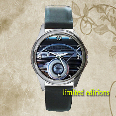 Limited !! 1967 ford galaxie 500 Convertible Steering classic car leather watch
