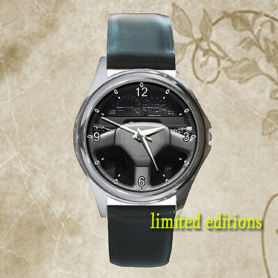 Limited !! toyota corolla fx16 gt s Steering Wheel classic car leather watch