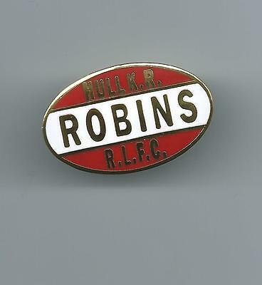 Hull Kingston Rovers Robins Rugby League Badge