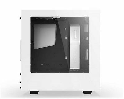 NZXT S340 White Mid Tower Gaming PC Case USB3.0 x2 FANS Included w/ W