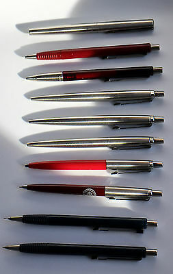 Lot of 10 writing instruments made by PARKER