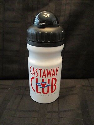 Disney Cruise Line Castaway Club White Aluminum Water Bottle  Drink Cup