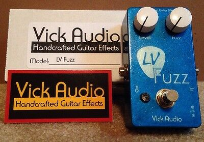 Vick Audio Limited Run Lv Fuzz Limited Edition Handwired - Now Unavailable