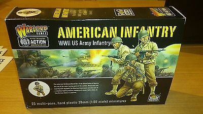 Warlord Games Bolt Action / Konflikt 47 American Infantry 28Mm New And Sealed