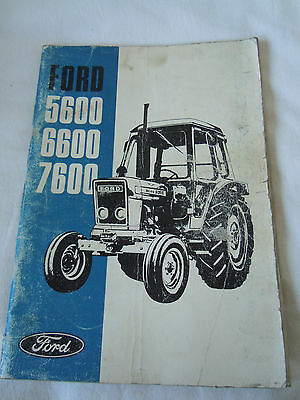 @Ford 5600 6600 7600 Tractor Operator's Manual@