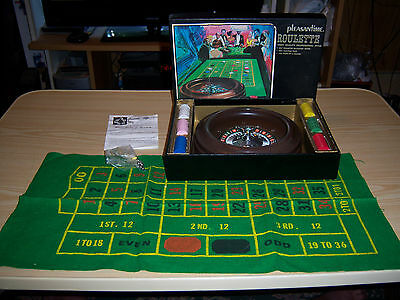 Pleasantime Roulette No. 132 Pacific Game Company - Vintage Complete