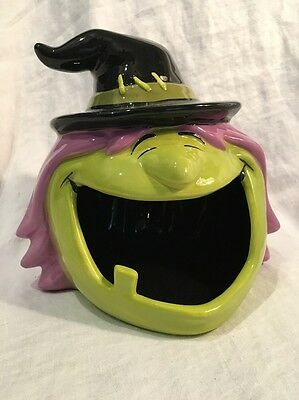 Halloween WITCH Open Mouth Candy Bowl, Ceramic, TARGET ~ Too cute!!!
