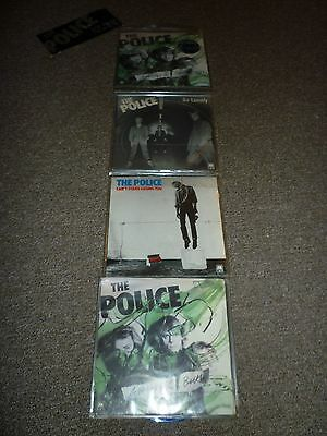 """THE POLICE - SIX / 6 PACK 7"""" INCH SINGLE / VINYL / RECORD / 45rpm"""