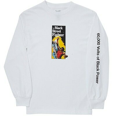 Deathwish Skateboards - Voltage Longsleeve Shirt White - S M L Xl -New Free Post