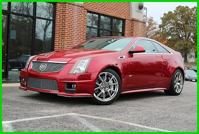 2011 Cadillac CTS CTS-V Coupe Automatic 2011 Cadillac CTS-V Coupe Premium Automatic