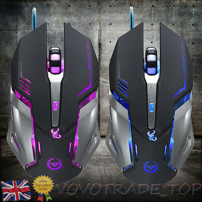 Luxury Gaming Mouse 3500 DPI USB Wired Optical 6 Button Computer Mouse Mice Gift