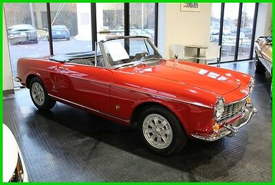 1965 Fiat Other 1500 Cabriolet Abarth 1965 Fiat 1500 Cabriolet Abarth