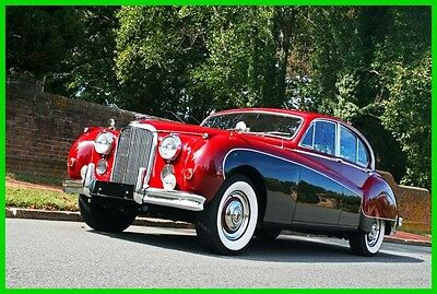 """1959 Jaguar Mark IX 1959 Jaguar Mark IX 1959 Jaguar Mark IX Sedan, Restored and Outstanding, The Famous """"Scarlet 9"""""""