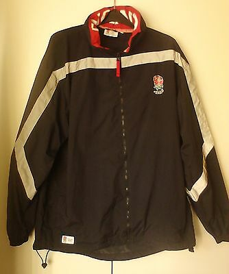 Official England Rugby - Black Jacket - Size L