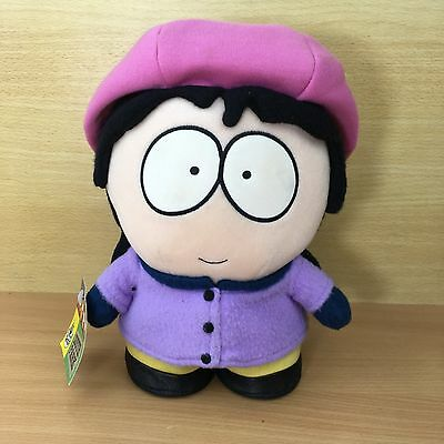 """South Park Wendy 10"""" Soft Plush toy -  Vintage 2000 Tagged"""