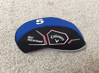 New 2016 10x Callaway Big Bertha Iron Covers Golf Club Headcovers Black&Blue