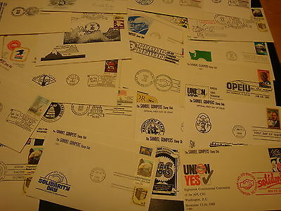 United States_Very Nice Lot Of 60 Covers From 1970 To 1995_Great Value..