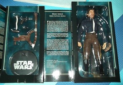 "Sideshow STAR WARS HAN ""IAN"" SOLO 1/6 action figure REBEL CAPTAIN BESPIN"