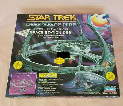 Star Trek Deep Space Nine ~ Space Station Ds9 ~  Command Base ~ Box Only