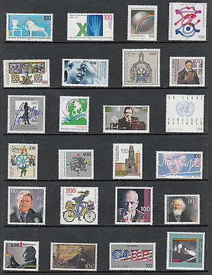 Germany 1990's Selection 4 Unmounted Mint