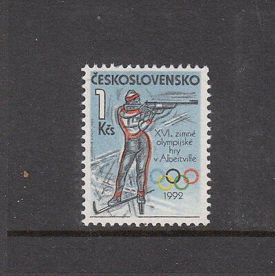 Czechoslovakia - 1992 Winter Olympics Unmounted Mint