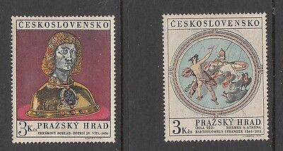 Czechoslovakia - 1971 Prague Castle Set Unmounted Mint