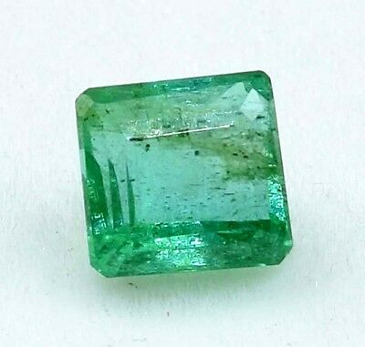 1.20 Cts. 100 % Natural Zambian Emerald Octagon Cut Untreated Loose Gemstones