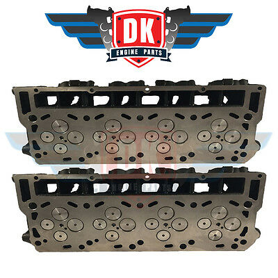 Ford Powerstroke 6.0L - 2003-2010 - Brand New Complete Cylinder Head Pair