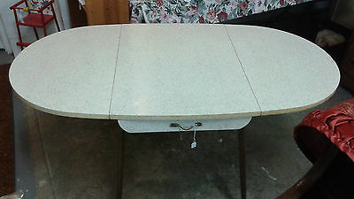 Vintage Drop Leaf Table with (2) Chairs