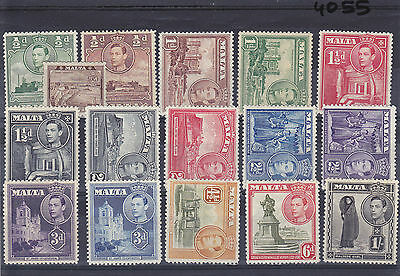 1938/43 Defs to 1/-  MH