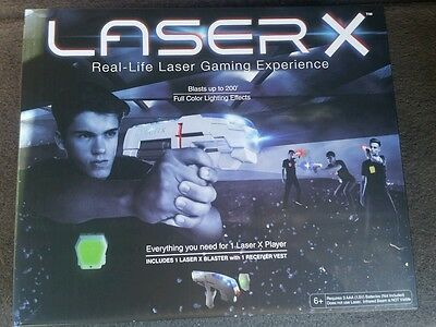 Laser X - One Player LASER GAMING SET - For 1 Player - IN STOCK - ready to ship!