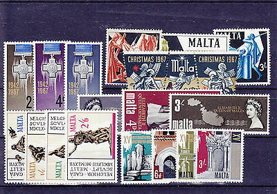 1967 Malta MNH - All stamps of year