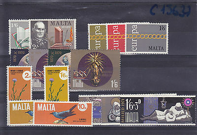 1971 Complete sets of the year - MNH