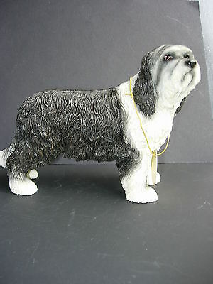 Bearded Collie dog model Leonardo figure new boxed