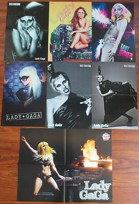 LADY GAGA Posters Clippings Lot