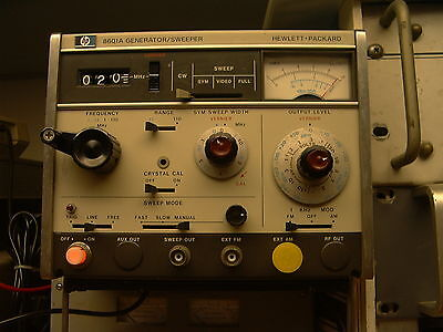 Hp Model 8601A Rf Sweep Generator - Excellent Condition