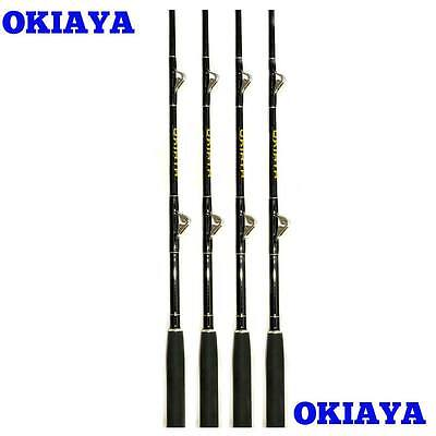 "Okiaya Composit 150-200Lb ""marlin Mangler""(4 Pack)Saltwater Big Game Roller Rod"