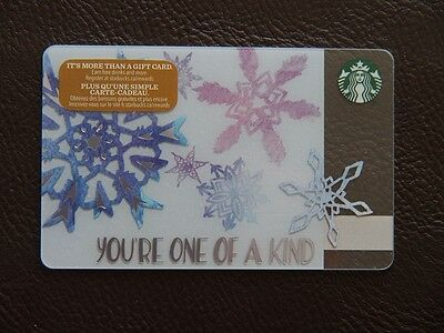 starbucks canada mint gift card-you're one of a kind