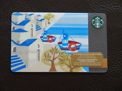 starbucks canada mint gift card-limited edition