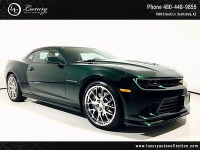 2015 Chevrolet Camaro SS Coupe 2-Door AT_Green Flash Edition_LOW MILES_Rear Camera_Parking Sensor_SS_RS_21 Wheels