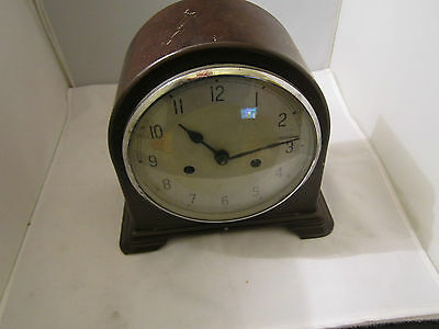 Old  Mantle Clock Spares Or Repair