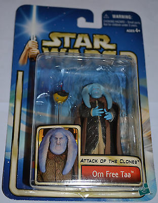 """Star Wars Attack Of The Clones """"orn Free Taa"""" Figure"""