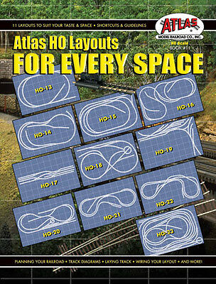 Atlas HO Layouts For Every Space Book #11 ATL11