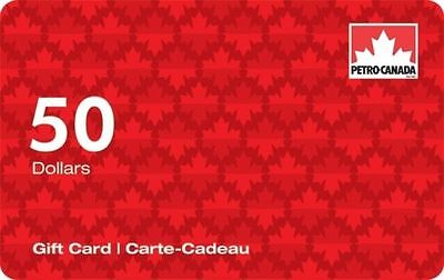 $50 Petro-Canada™ Gift Card with Free Shipping!