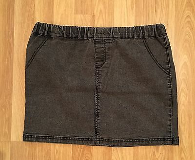 Denim Pull On Mini Skirt size 12 from Florence & Fred Stretchy