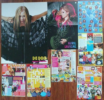 AVRIL LAVIGNE Posters Clippings