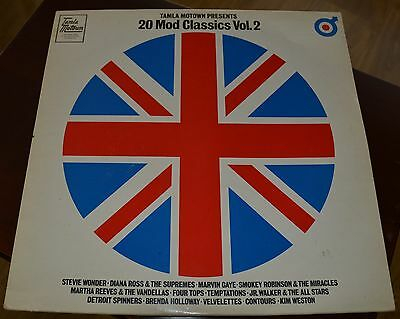 20 Mod Classics Vol 2 - Lp - Tamla Motown Presents Various Artists