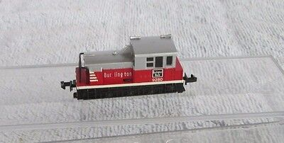 Bachmann N Burlington Route 9280 MDT Plymouth 0-6-0 Diesel Locomotive Loco Train